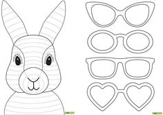 easter bunny with glass how to