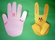 easter rabbit fingers