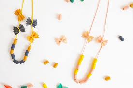 pasta jewellery
