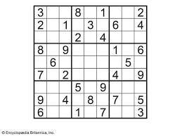 suduko puzzle