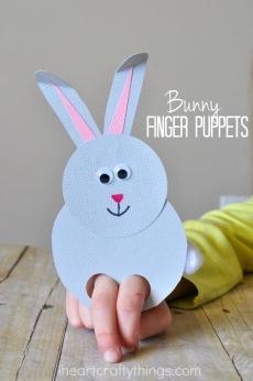 easter finger puppet
