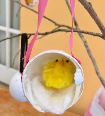 egg chick in egg