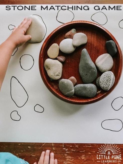 match the stones
