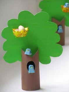 toilet roll tree